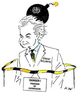 Geert Wilders by Kurt Westergaard
