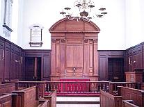 The chapel at the Wren Building