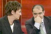 Brigitte Zypries and Oezcan Mutlu