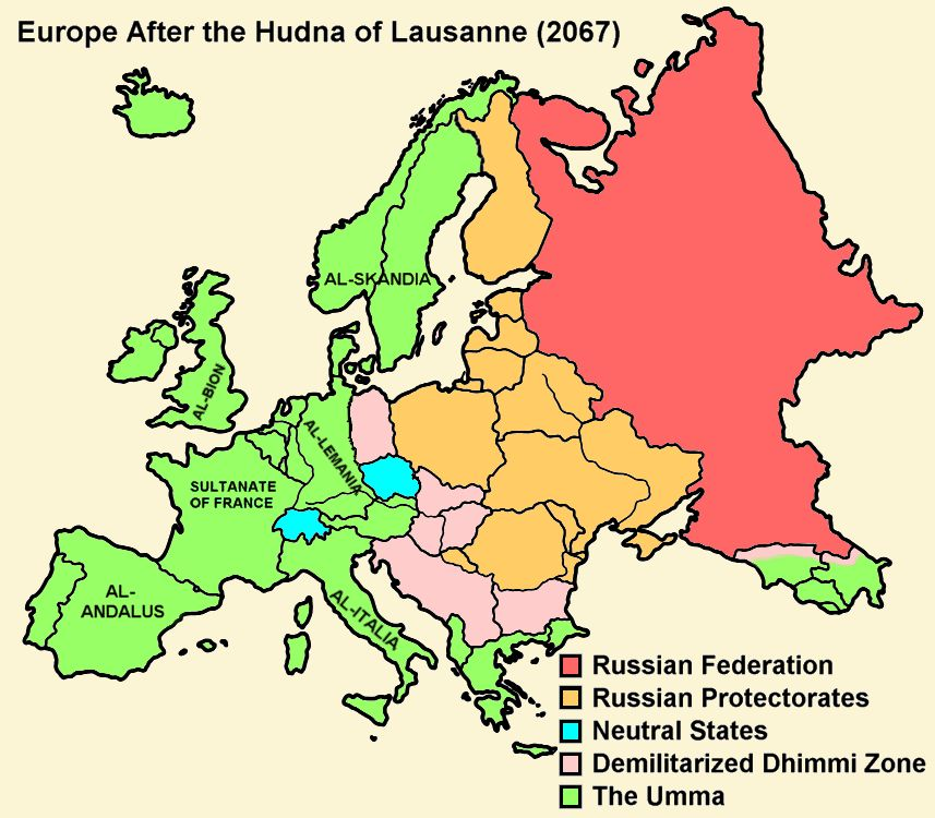 Europe After the Hudna of Lausanne