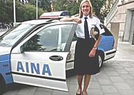 AINA police car
