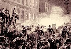 Anarchist riot