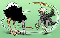 Beheading the ostrich