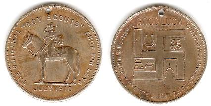 Boy Scout souvenir coin
