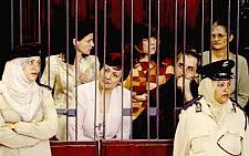 The Bulgarian nurses in custody in Libya