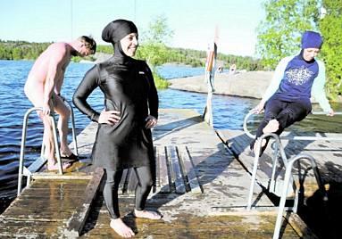 Burkinis in Sweden