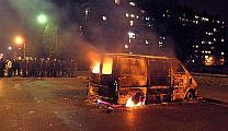 Riots in suburban Paris