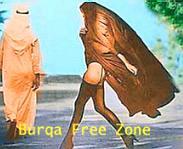 Burka Free Zone
