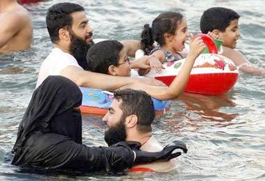 Burqa swim