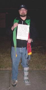 Counter-demonstrator