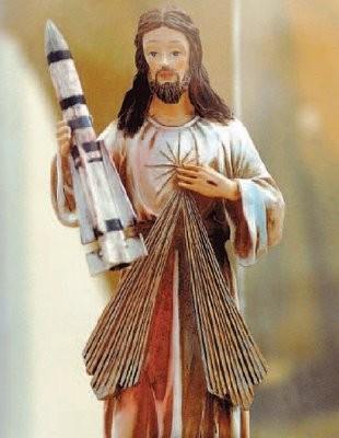 Jesus with Phoenix Missile