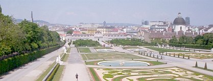Vienna from  the Belvedere Palace