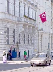 The Vienna Turkish embassy