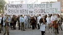 Demo in Vienna: Viennese Islamists govern the socialists