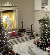 Juleaften i Københavns Domkirke