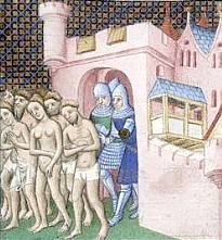 The excommunication of the Albigenses, 14th century