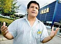 A racist at IKEA