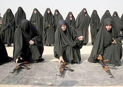 Iraqi police women