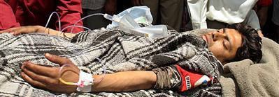 Victim of Islamist attack in Kashmir