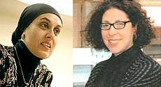 Dhabah Almontaser and Danielle Salzberg