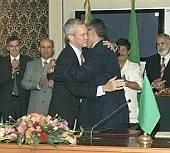Diplomats Play Hug 'n Kiss In Tripoli