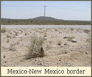 Mexico-New Mexico border