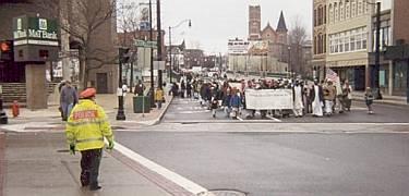 MOA parade in Binghamton, NY