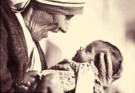 Mother Theresa and Child