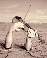 Nero fiddles