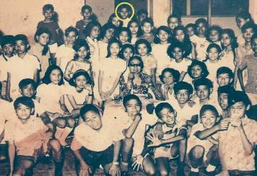 School photo of Barry Soetoro in Indonesia