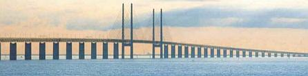Øresund Bridge from København  to Malmø