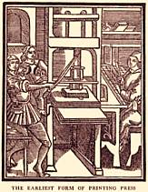 The earliest printing press