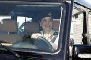 Queen Rania Out For a Ride