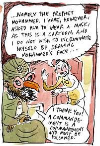 Cartoon by Ville Ranta