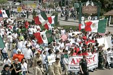 La Raza demonstration