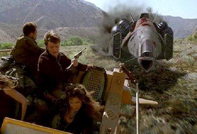 Fleeing the Reavers
