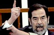 Saddam at sentencing