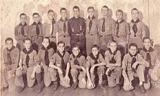 Boy Scout Troop 6, First Presbyterian Church,ca 1945