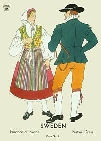 Festive dress, Skåne