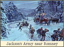 Jackson's Army near Romney
