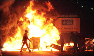 Riots in Spain