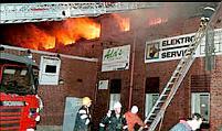 Arson in Sweden