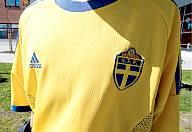 A Swedish football shirt