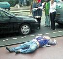 The body of Theo Van Gogh