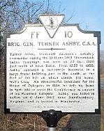 Brig. Gen. Turner Ashby