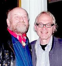 Kurt Westergaard and Lars Vilks © Snaphanen