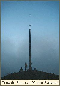 Cruz de Ferro at Monte Rabanel