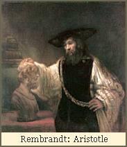 Rembrandt: Aristotle